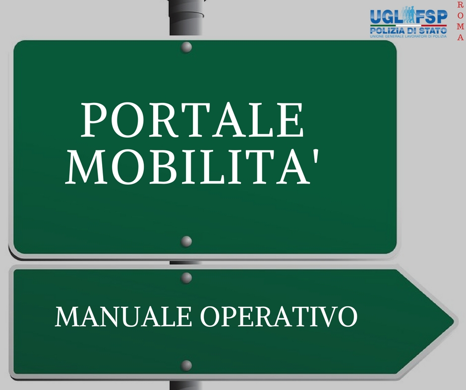 Portale mobilità: manuale operativo utente.