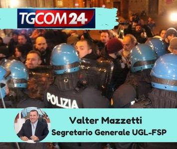 Il segretario generale Valter Mazzetti su TGCom24 sui fatti di Piacenza