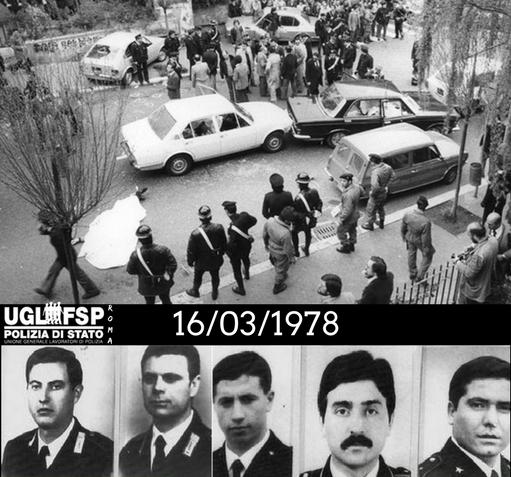 40 anni dalla strage di via Fani
