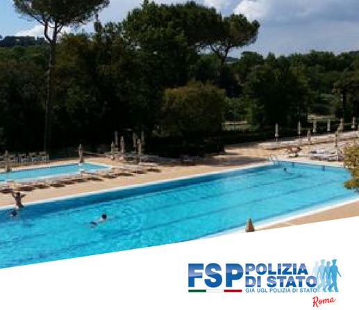 """Circolo Funzionari Centro Sportivo della Polizia di Stato """"Tor di Quinto"""" Stagione estiva 2018"""