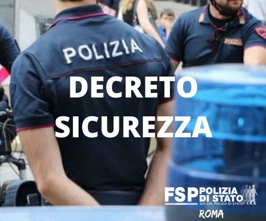 Decreto Sicurezza