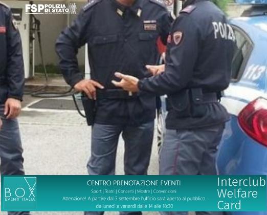 Agevolazioni per gli appartenenti alla Polizia di Stato. INTERCLUB