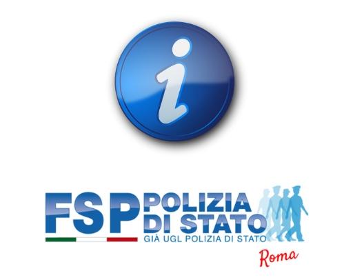 INFO FSP Polizia. Prova orale 263 vice ispettori, eventuali scorrimenti graduatorie.