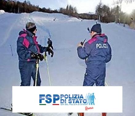 Servizi di sicurezza e soccorso in montagna nella stagione invernale 2018/2019 a cura della Polizia di Stato.