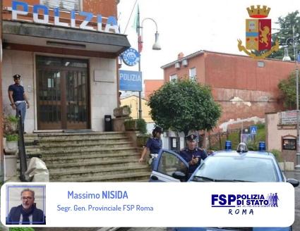 Unificazione del Commissariato P.S. di Genzano con altro Ufficio di P.S.  Lettera al Questore.