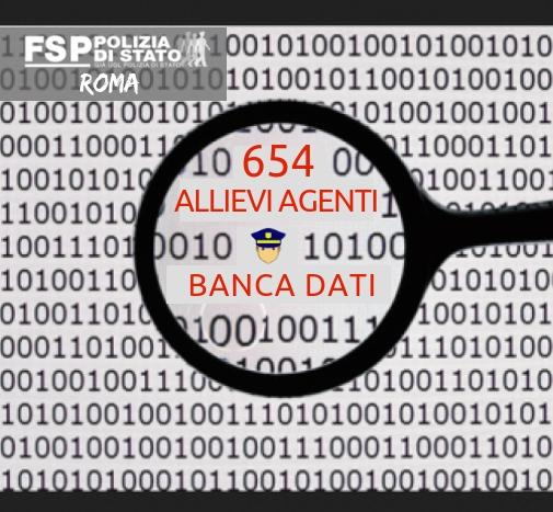 Concorso 654 Allievi Agenti: Pubblicazione Banca Dati dei quesiti.