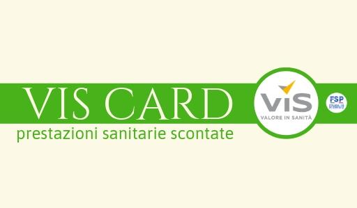 Convenzione VisCARD – prestazioni sanitarie scontate