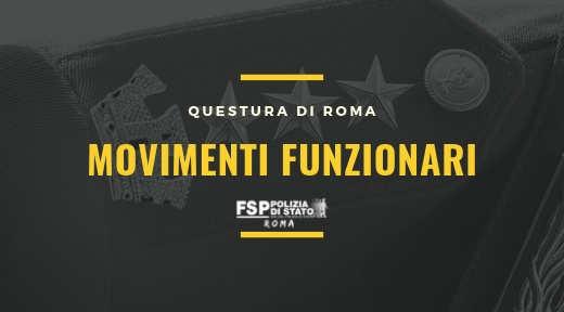 movimenti funzionari sito roma