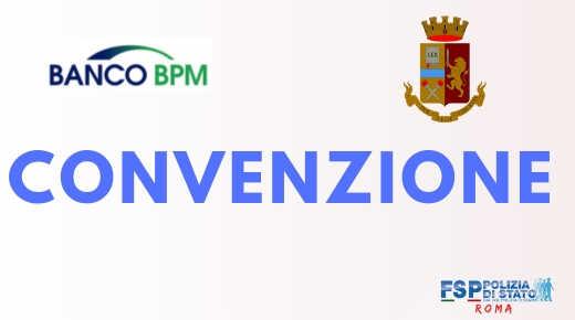 Convenzione con Banco BPM S.p.A. per l'anticipazione del T.F.S.
