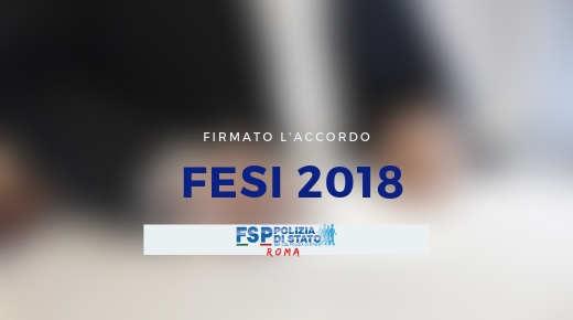 Firmato l'accordo FESI 2018