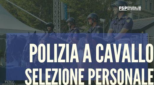 polizia a cavallo