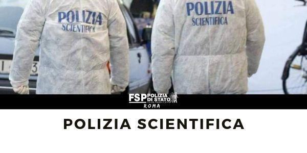 Gabinetto Interregionale Polizia Scientifica per il Lazio, l'Umbria e l' Abruzzo, con sede a Roma. Gabinetto Interregionale Polizia Scientifica per le Marche e l'Abruzzo, con sede ad Ancona.