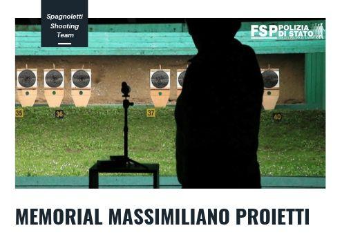 """Memorial """"Massimiliano Proietti"""" – dal 18 al 24 giugno 2019 """"spagnoletti Shooting Team""""."""