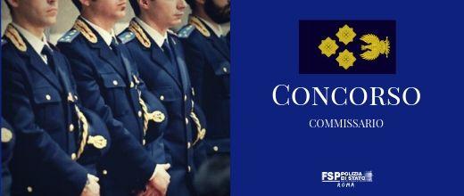 Concorso 80 Commissari. Graduatoria.