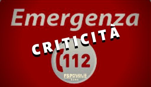 112 criticità