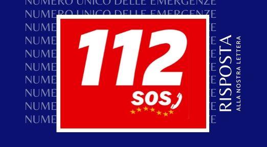 """Numero Unico Europeo """"112"""" — criticità. La risposta della Questura di Roma."""