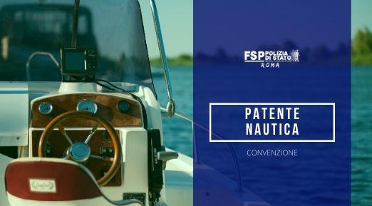 Convenzione Patente Nautica a Motore.