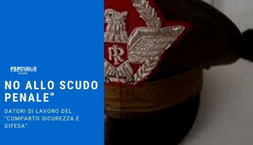 """Conversione in legge del d.l. 17/3/2020, nr. 18 No allo """"scudo penale"""" per i datori di lavoro del """"Comparto Sicurezza e Difesa""""."""