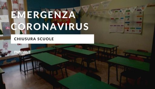 chiusura scuole Coronavirus