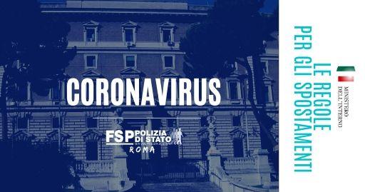 Coronavirus, Viminale: ecco le regole per gli spostamenti