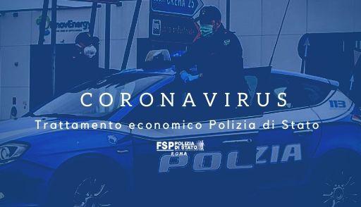 """Polmonite da nuovo coronavirus"""" (COVID-19)  Trattamento economico per il personale delle Forze di Polizia. Compenso per lavoro straordinario — Indennità Ordine Pubblico."""