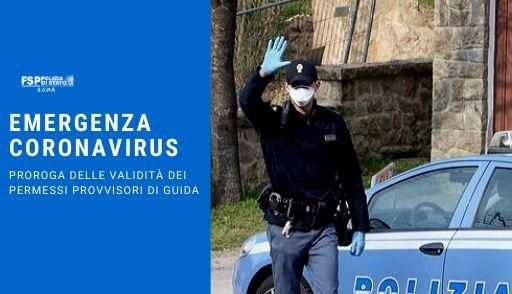 Coronavirus permesso provvisiorio di guida
