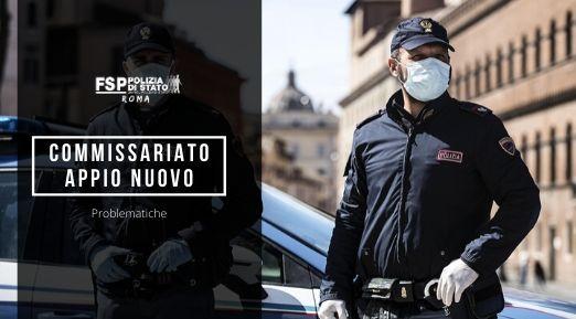 """Commissariato di P.S. """"Appio Nuovo"""" – problematiche."""