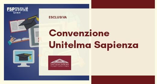 Convenzione Unitelma Sapienza