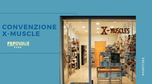 Convenzione X-Muscles, vendita di integratori alimentari per tutti gli sport