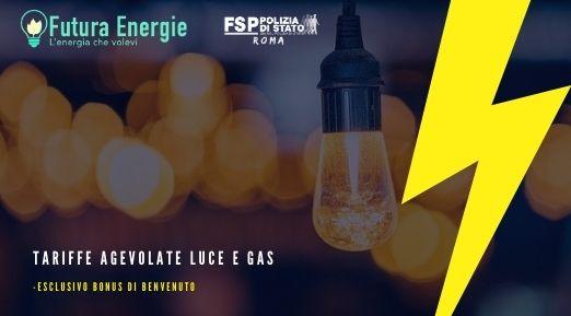 Convenzione con Futura Energie. Tariffa agevolata Luce e Gas