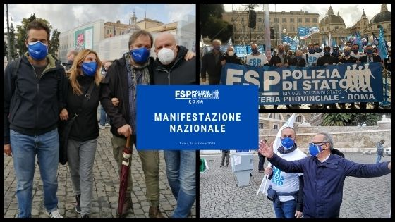manifestazione segreteria di Roma