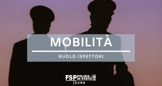 mobilità ispettori