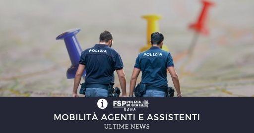 Mobilità agenti assistenti news