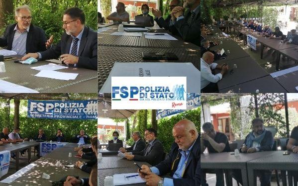 3° Congresso Provinciale. Massimo Nisida confermato alla guida della FSP Polizia di Stato Roma. Marco Giovagnorio neo segretario regionale Lazio.