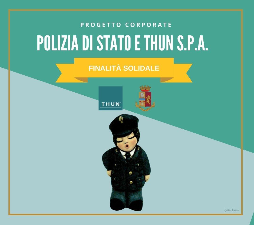 Progetto corporate Polizia di Stato THUN S.p.A.