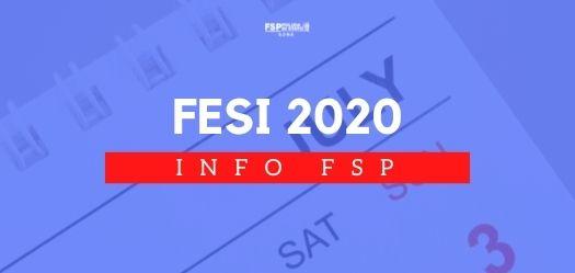 Copia di INFO FSP FESI 2020